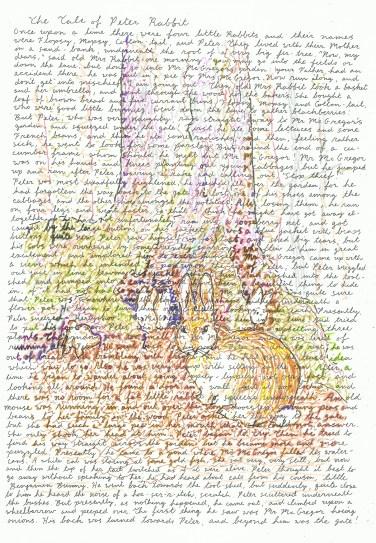 peter rabbit - fir tree