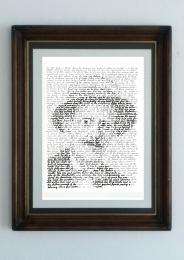 joyce portrait framed