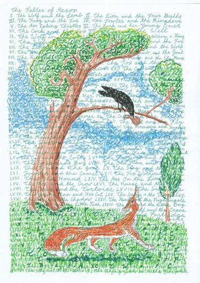aesop - crow