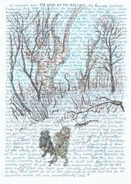 wind willows - winter scene